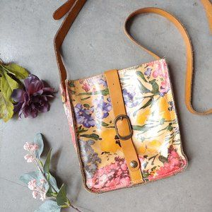 Patricia Nash Floral Venezia Pouch Cross Body Bag